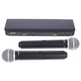 SHURE BLX288E/PG58  Двоен безжичен микрофон